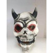 Buldum Korkunç Maskeler Halloween Şeytan Maskesi Korku Maskesi