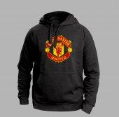 Manchester Unıted Siyah Sweatshırt