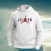 Jordan Beyaz Sweatshırt
