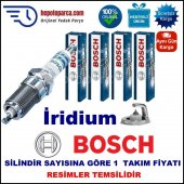 Audı A4 1.8 T Avant (08.1998 09.2001) Bosch Buji Seti Platin İridyum (Lpg) 4 Adet