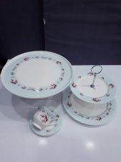 Aryıldız 14 Parça Porselen Çay Kahvaltı Takımı Fincanı Kek