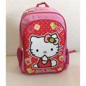 Hakan Çanta Hello Kitty Okul Çantası Renkli Kurdeleli (Lisanslı)