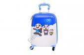 Albatros Çocuk Valiz Panda Ailesi 4 Tekerli Çekçekli Çocuk Valiz, Bavul