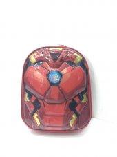 Haeja Ironman Kırmızı Erkek Çocuk Sırt Çantası