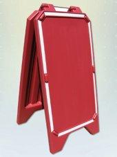 Aç Kapa Tabela Kırmızı