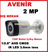 Avenir Sensör 2 Megapixel Lens 3 Megapixel Hibrid Ahd Kamera