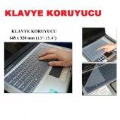 Laptop Klavye Koruyucu Şeffaf Silikon