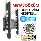 Hi Level 80 81 82 99 100 Cm Ekran Lcd Led Tv Duvar Askı Aparatı M