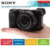 Sony A6000 16 50mm Lensli Aynasız Fotoğraf Makinesi (Siyah)