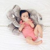 Sozzy Babycim Uyku Arkadaşım Jumbo Fil 60 Cm Gri...