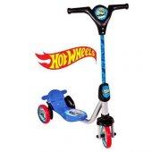 Orjinal Hot Wheels 3 Tekerlekli Frenli Scooter Mav...