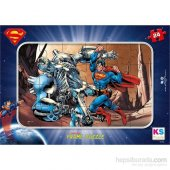 Warner Bros Superman Frame Puzzle (Yapboz) 24 Parç...