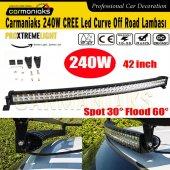 Cree 240w Led Curve Off Road Lambası Videolu Tanıtım Crmx1050