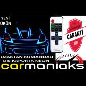 Carmaniaks Stop Çevresi Led Neon Uzaktan Kumandalı 2 Metre Sarı