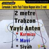 Carmaniaks 2 Metre Yaylı Trabzon Magnum Anten Kırmızı