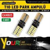 Carmaniaks T10 Canbus Beyaz Samsung Ledli 48 Led Park Ampülü