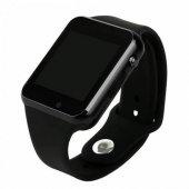 A1 Bluetooth Akıllı Saat Android İos Uyumlu (Siyah)