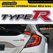 Carmaniaks Typer Sticker Metal Arma Paslanmaz