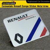 Carmaniaks Renault Europe Sticker Metal Arma