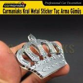Carmaniaks Orijinal Toyota Crown Sticker Metal Arma 2li