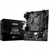 Msı H310m Pro M.2 Plus Ddr4 2666 Mhz S+v+gl 1151p...