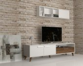 Tv Ünitesi Güneş 190 Cm Beyaz