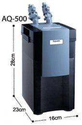 Aquanıc Akvaryum Dış Filtre 500 L H