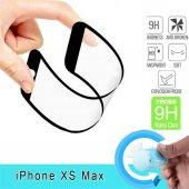Apple İphone Xs Max 6.5 Fiber Nano Ekran Koruyucu Siyah