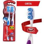 Colgate Diş Fırçası 360 � Optik Beyaz Orta 1+1