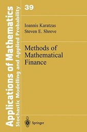 Methods Of Mathematics Finance