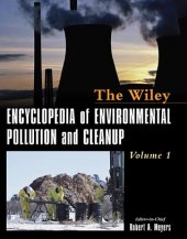 Wiley Encyclopedia Of Environmental Pollution And Cleanup Volume 2