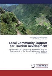 Local Community Support For Tourism Development