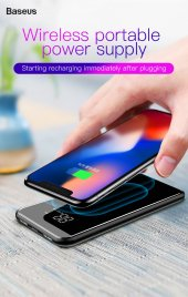 Samsung S8 Baseus Qı Wireless Powerbank 8000 Mah