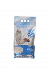 Lilycat Bentonit Beyaz Sabun Kokulu Kedi Kumu 5 Lt.