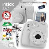 Fujifilm Instax Mini 9 Beyaz Fotoğraf Makinesi Ve Hediye Seti