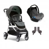 Mamas Papas Armadillo Flip Xt 2 Travel Sistem Bebek Arabası Grey Ice Blue