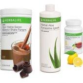 Herbalife Çikolatalı Shake+aleo Vera+limonlu Çay
