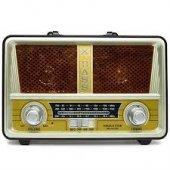 Nıkulastar Usb Li Fm Bluetoothlu Fenerli Radyo (Rdl 4614 Bt)
