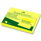Faber Castell Yapışkanlı Not Kağıdı 100 X 75 Mm Sarı
