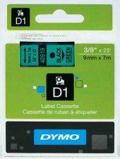 Dymo Şerit D1 9mmx7mt Yeşil Siyah 720740 40919