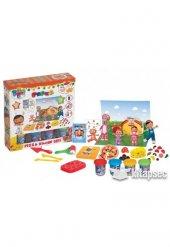 Eğitici Pepee Pizza Kalıplı Oyun Hamuru Seti 03270 Fentoys Eğitici Oyuncak Çocuk Aktivite Oyun Seti
