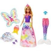 Barbie Dream Topıa Dönüşen Prenses Fvm91