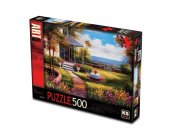 Ks Five Oclock Tea Puzzle 500 Parça