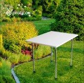 Piknik Bahçe Balkon Masası 60x80 Pratico