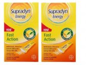 Supradyn Energy Fast Action 10 Şase 2 Adet
