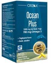 Ocean Plus 1.200 Mg Omega 3 Saf Balık Yağı 50 Kapsül