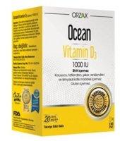 Ocean Vitamin D3 1000 Iu 20 Ml Oral Sprey