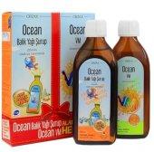 Ocean Omega 3 Portakallı Balık Yağı Şurubu 150ml+ocean Vm Şurup