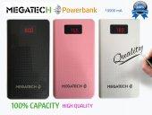 Megatech 10000mah Dijital Gösterge Powerbank Beyaz...