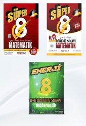 Süper Enerji 8. Sınıf Matematik Soru Bankası Ve Deneme Seti Nitelik Yayınları Ve Palme Kitabevi